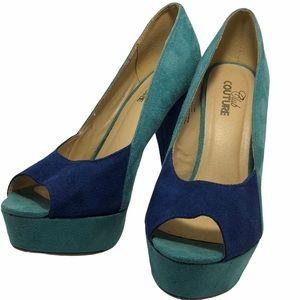Club Couture Platform Heels